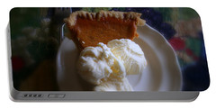 Pumpkin Pie A' La Mode Portable Battery Charger