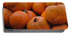 Portable Battery Charger featuring the photograph Pumpkin Pile by Tikvah's Hope