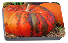 Portable Battery Charger featuring the photograph Pumpkins by Cynthia Guinn