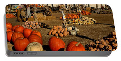 Portable Battery Charger featuring the photograph Pumpkins by Michael Gordon