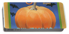 Pumpkins Portable Battery Charger by Wild Apple Graphics