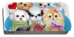 Puppies Manifesto Portable Battery Charger