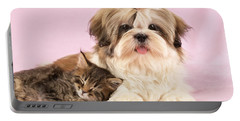 Puppy And Kitten Portable Battery Charger