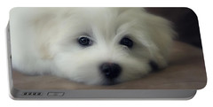 Puppy Eyes Portable Battery Charger