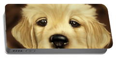 Puppy Portable Battery Charger by Veronica Minozzi
