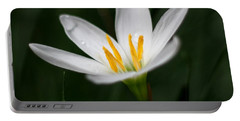 Pure White - Lily Portable Battery Charger