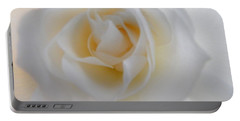 Portable Battery Charger featuring the photograph Purity by Deb Halloran