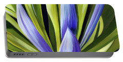Purple Cactus Portable Battery Charger