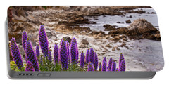 Purple California Coastline Portable Battery Charger