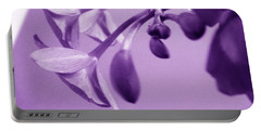 Purple Charm Portable Battery Charger