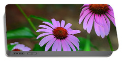 Purple Coneflower - Echinacea Portable Battery Charger