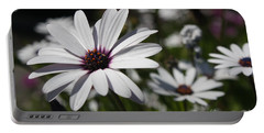Purple Daisies 2 Portable Battery Charger