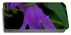 Purple Portable Battery Charger by Daniel Sheldon