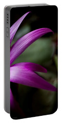 Portable Battery Charger featuring the photograph Purple Flower by Steven Milner
