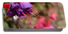 Purple Fuchsia Portable Battery Charger
