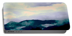 Purple Mountains Majesty Blue Ridge Mountains Portable Battery Charger by Kathy Barney