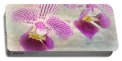 Purple Orchid 2 Portable Battery Charger