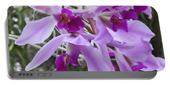 Purple Orchid Personality Portable Battery Charger