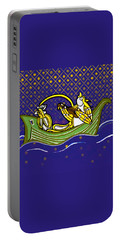 Pussycat And Owl Stars Portable Battery Charger