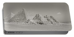 Pyramids Of Giza, Egypt Portable Battery Charger