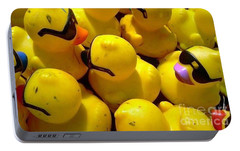 Portable Battery Charger featuring the photograph Quack Quack by Michael Hoard