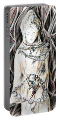 Quan Yin The Guide Through Entangled World Portable Battery Charger