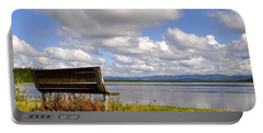 Portable Battery Charger featuring the photograph Quartz Lake by Cathy Mahnke