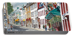 Quebec Old City Canada Portable Battery Charger