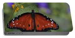 Queen Butterfly Portable Battery Charger