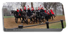 Portable Battery Charger featuring the photograph Queen's Guard by Tiffany Erdman