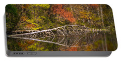 Quiet Waters In Autumn Portable Battery Charger