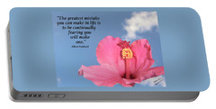 Quotes For The Soul Portable Battery Charger