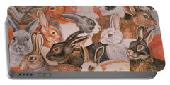 Rabbit Spread Portable Battery Charger
