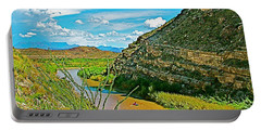 Rafting In Santa Elena Canyon In Big Bend National Park-texas Portable Battery Charger by Ruth Hager