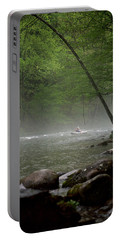 Rafting Misty River Portable Battery Charger