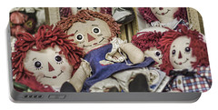 Raggedy Ann And Andy Portable Battery Charger