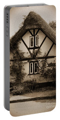 Rags Corner Cottage Nether Wallop Olde Sepia Portable Battery Charger