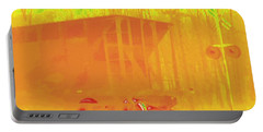 Railroad Car, Thermogram Portable Battery Charger