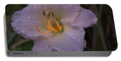 Rain Daylilly 2 Portable Battery Charger
