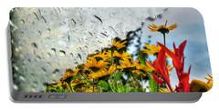 Rain Rain Go Away... Portable Battery Charger by Michael Frank Jr