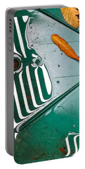 Portable Battery Charger featuring the photograph Rain Reflections by Bill Owen