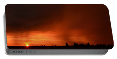 Rain Squall Sunrise Portable Battery Charger