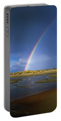 Rainbow Appears Over The Mouth Portable Battery Charger