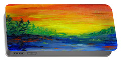 Rainbow Back Waters Portable Battery Charger