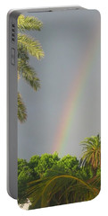 Portable Battery Charger featuring the photograph Rainbow Bermuda by Photographic Arts And Design Studio
