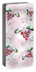 Rainbow Berries Portable Battery Charger