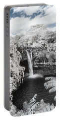 Rainbow Falls In Infrared 1 Portable Battery Charger
