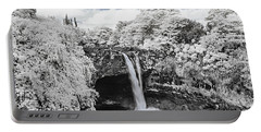 Rainbow Falls In Infrared 2 Portable Battery Charger
