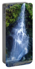 Portable Battery Charger featuring the photograph Rainbow Falls by John Williams