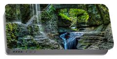 Rainbow Falls Watkins Glen Portable Battery Charger